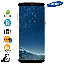 5f085aeb38536 Galaxy S8 64GB HDD - Black - 12 Months + Cover + Screen Protector Offered