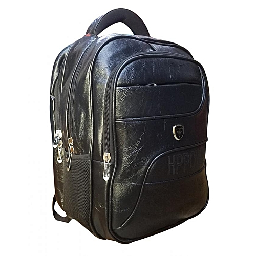27ba098e227a Hp Power Patent Leather Black Waterproof Backpack