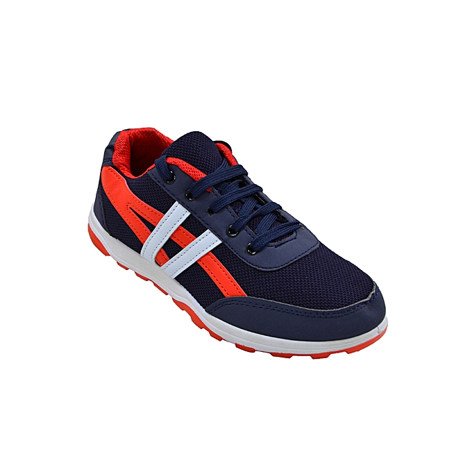 4826564b0a2ba Sport White Orange And Navy Blue Sneakers online | Jumia CM