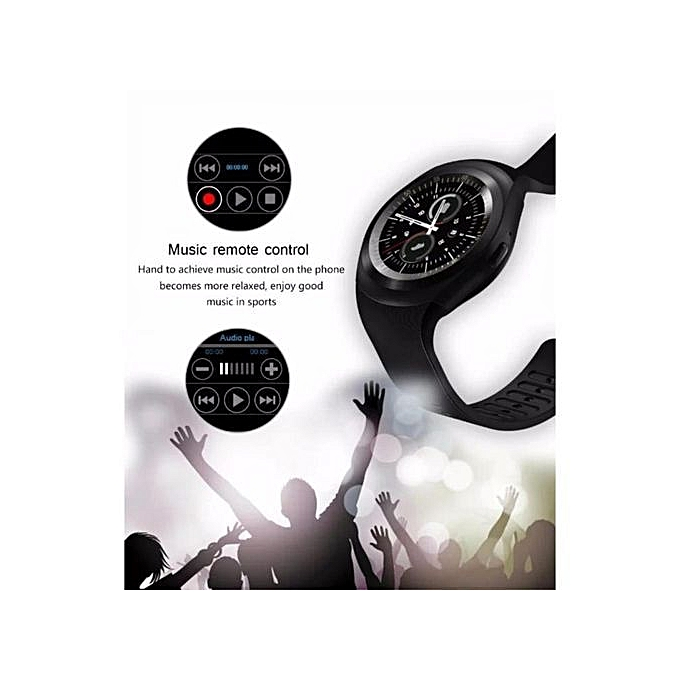 Connected Watch - SIM & TF For IOS / Android - Black