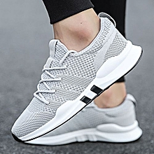 buy popular a5667 028fa New Men  039 s Flying Woven Casual Shoes Breathable Sports Shoes Trend  Running Shoes
