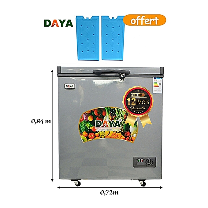 daya cong lateur coffre dy 200 150 l cool pack offert gris el ctrom nager jumia cameroun. Black Bedroom Furniture Sets. Home Design Ideas