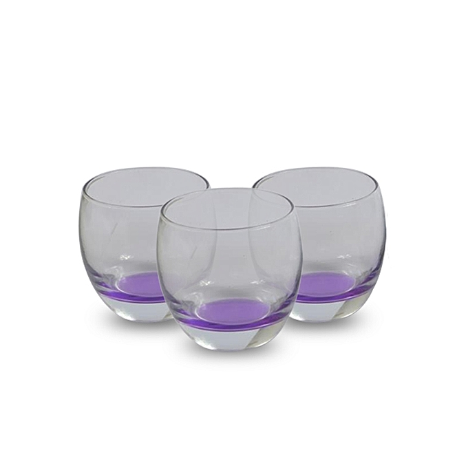 no name verres a whisky color s translucide et violet. Black Bedroom Furniture Sets. Home Design Ideas