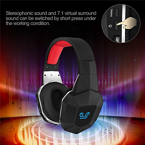 HW-N9 7 1 Surround Sound Stereo Wireless Gaming Headset Headphones for  PS4/PS3 PC XBox One 360 Noise Cancelling Microphone( )