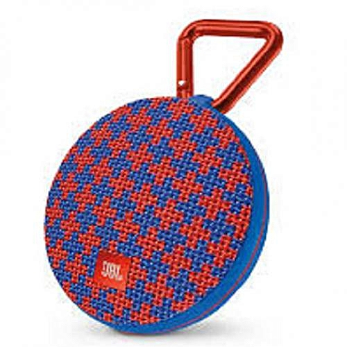 JBL CLIP 3 - Waterproof and portable wireless Bluetooth speaker - Blue red  - 6 months