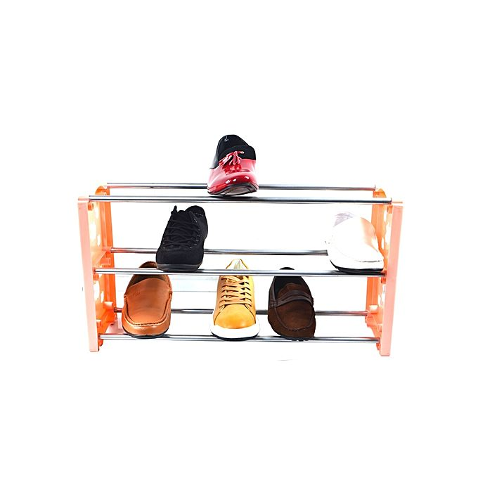 armoires etag re pour chaussures 3 niveaux 25 x 60 cm rose jumia cameroun. Black Bedroom Furniture Sets. Home Design Ideas