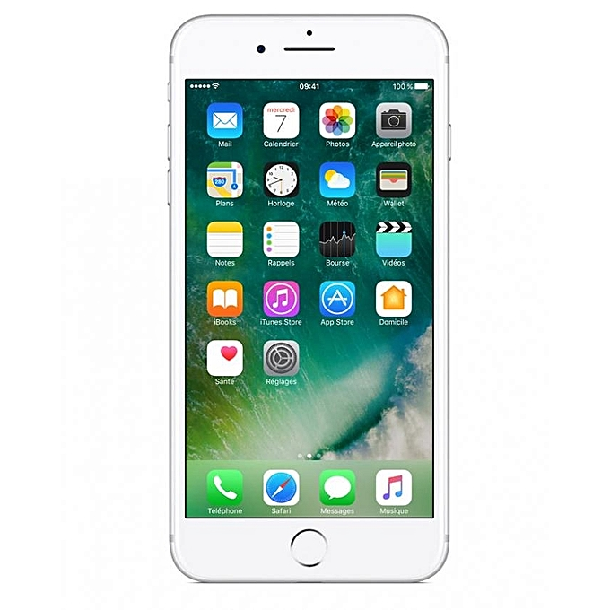 apple iphone 7 plus 32go hdd argent 6 mois jumia cameroun. Black Bedroom Furniture Sets. Home Design Ideas