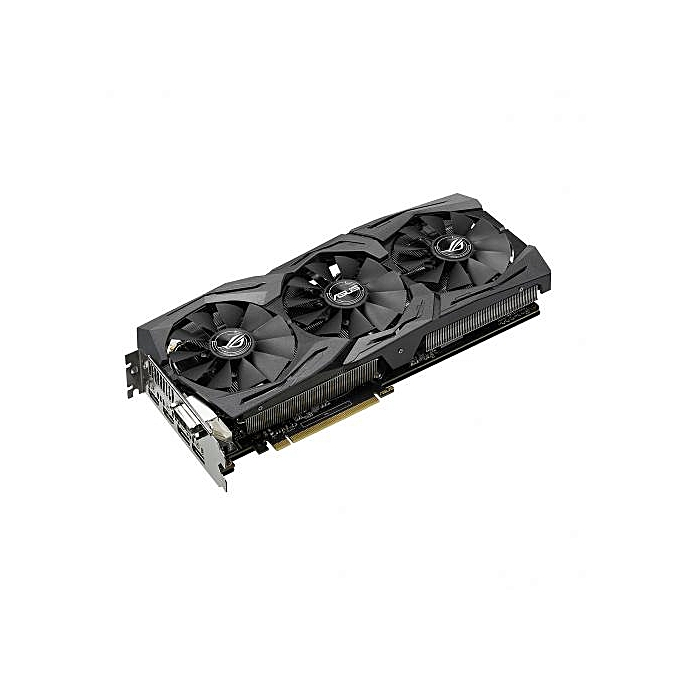 ASUS GeForce GTX 1070 ROG STRIX-GTX1070-O8G-GAMING Graphics Cards - Black -  12 Months