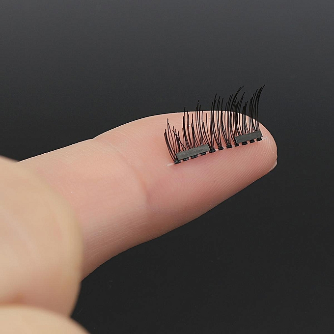 f8ced593dc1 ... 8PCS/4Pairs Dual 3D Magnetic False Eyelashes Makeup Long Eye Lashes  Extension