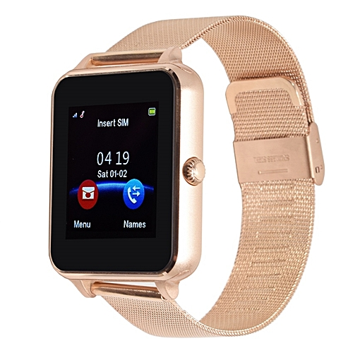 Smart Watch Bracelet Responsable Gold