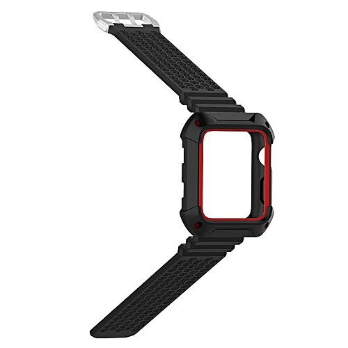 more photos fcec9 6a8cd Soft Silicone Watchstrap Replacement Sports Watch Band Waterproof Bracelet  for Men or Women 38mm 42mm Apple iWatch Series 1 2 3 Smart Watches