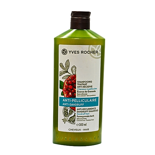 yves rocher shampooing traitant anti r cidive cheveux a pellicules 300 ml bain douche corps. Black Bedroom Furniture Sets. Home Design Ideas