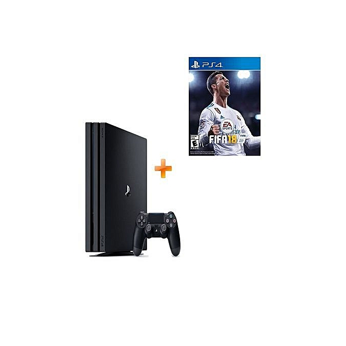 sony console playstation 4 slim 500go hdd fifa 18 1. Black Bedroom Furniture Sets. Home Design Ideas