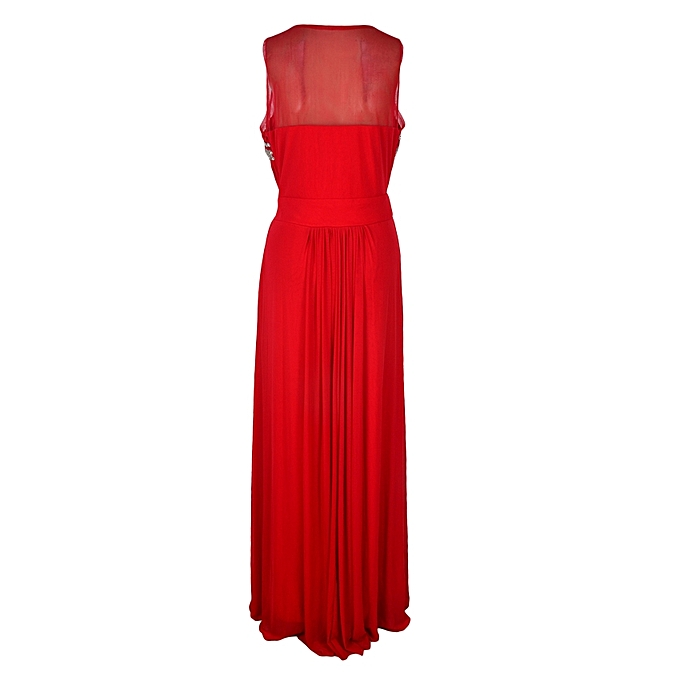 Buy LQZL Red Evening Dress in Cameroon | Jumia Cameroon