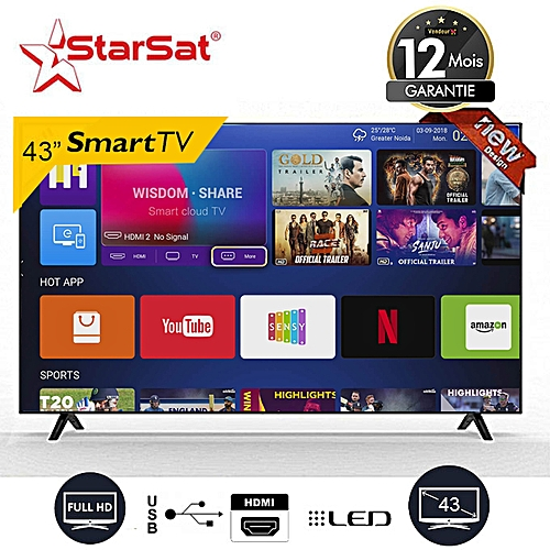 Smart Ultra Slim LED TV 43